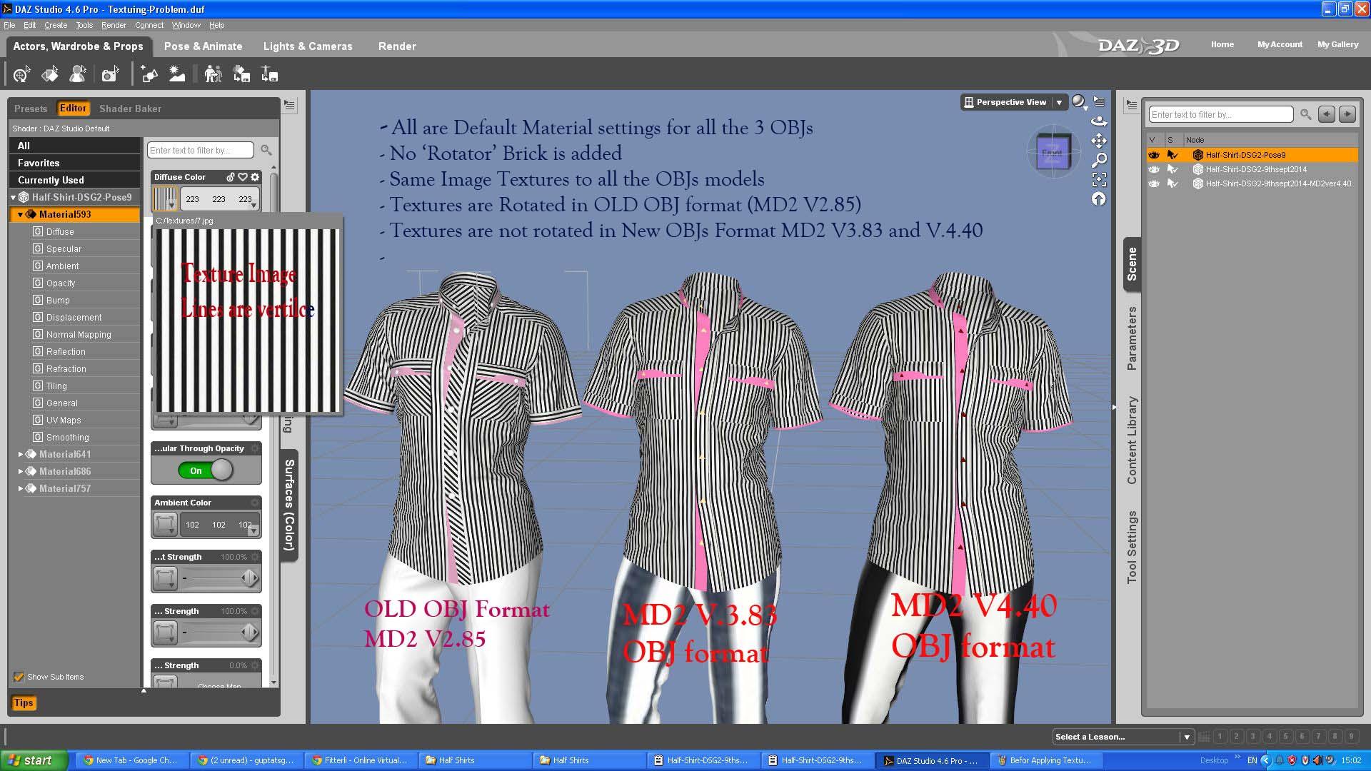 marvelous designer export to daz3d